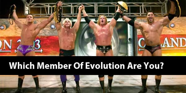 Which Member Of Evolution Are You?
