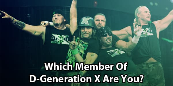 Which Member Of D-Generation X Are You?